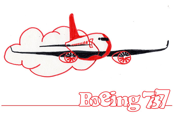 Boeing 737 stilering