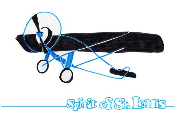 spirit of st louis stilering