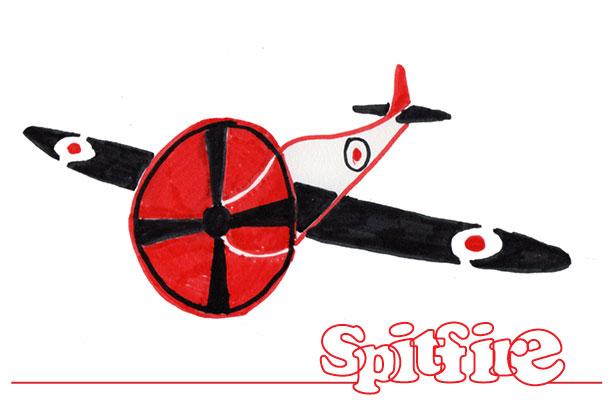 Spitfire stilering