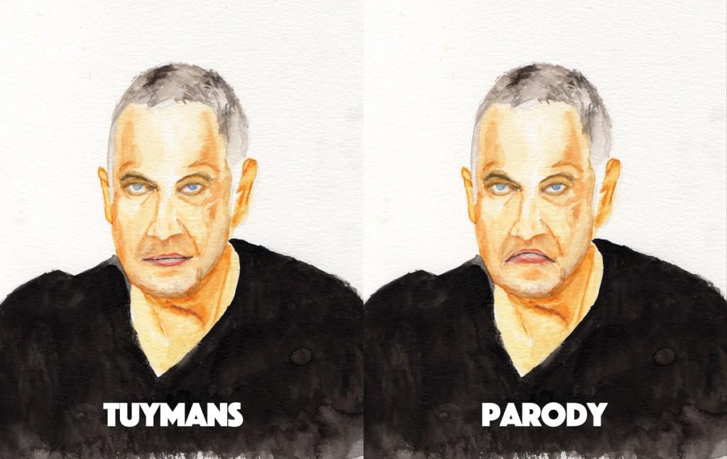 Tuymans parody or plagiarism